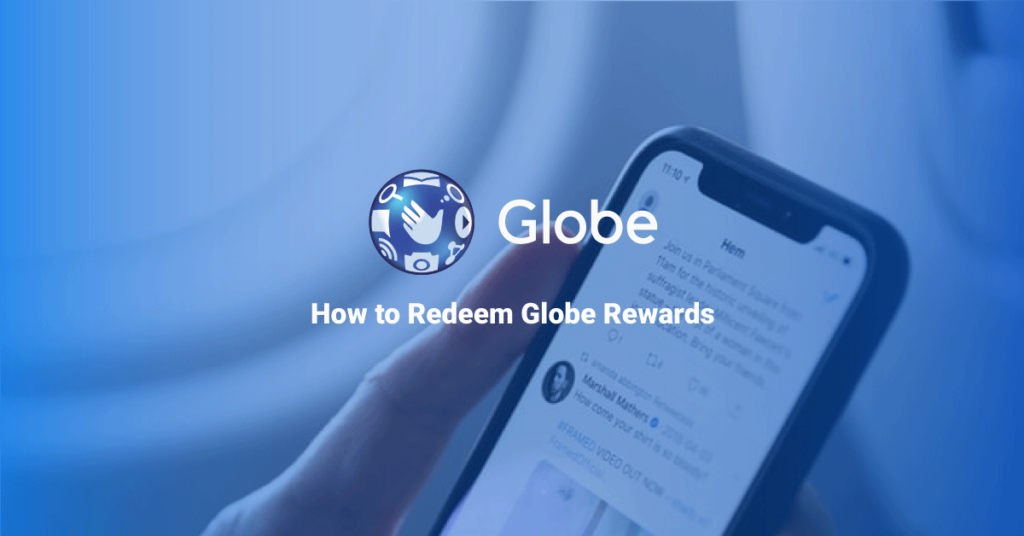 Redeem globe rewards