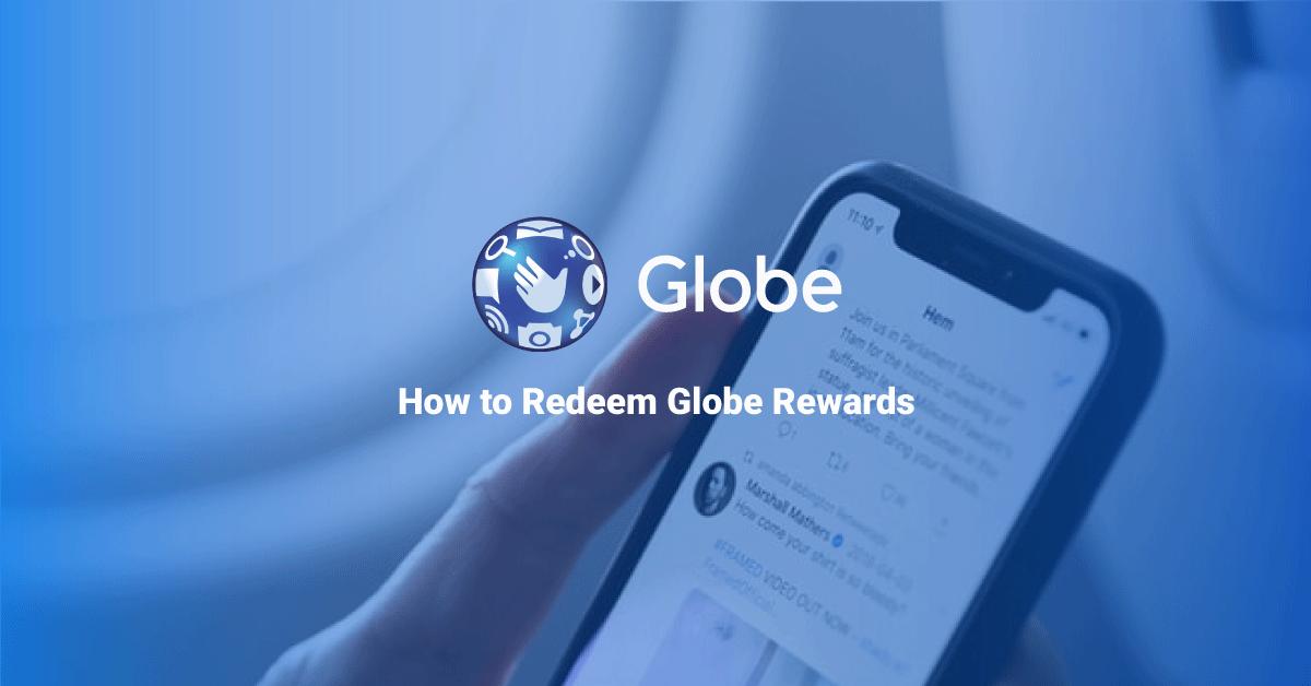 Redeem globe rewards
