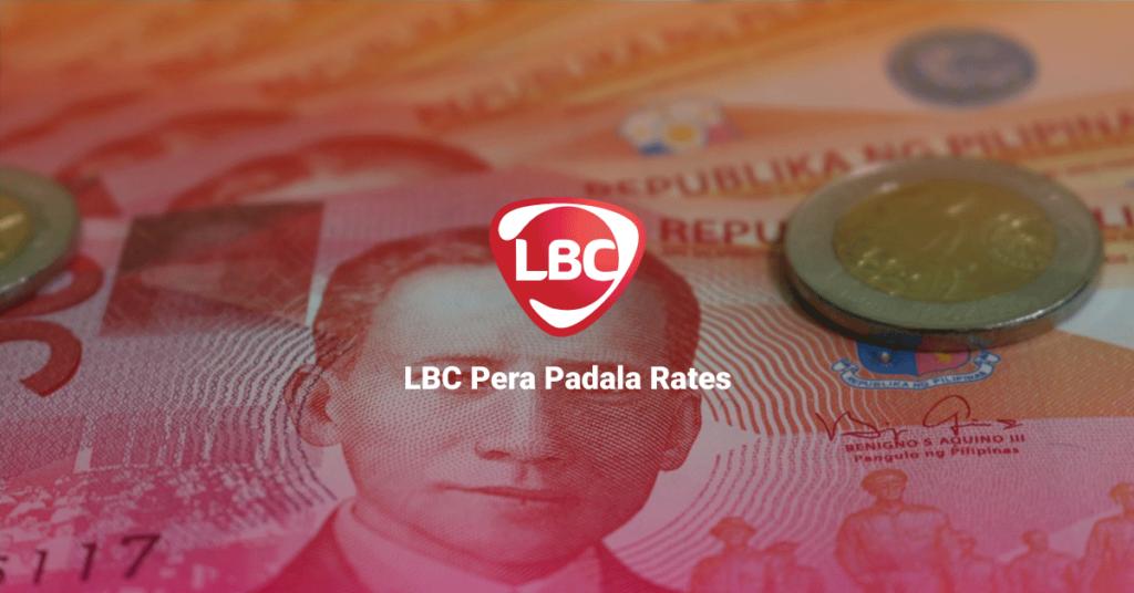 LBC Pera Padala Rates
