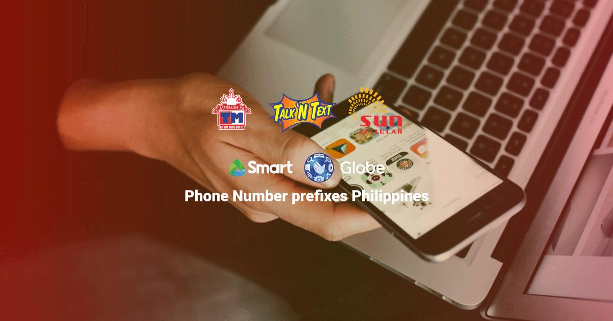 phone number prefixes philippines