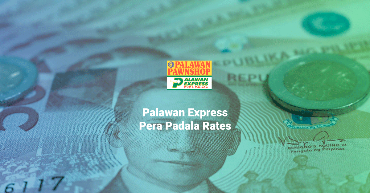palawan express rates