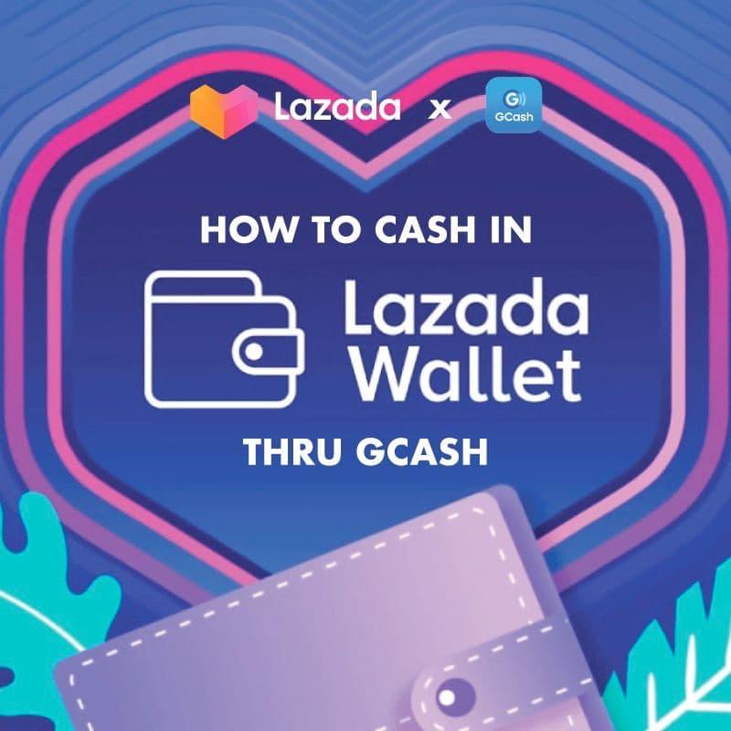 cash in lazada wallet